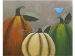 """Rustic Pumpkins"" Canvas Class, November 2nd"