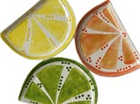 SOLD OUT Summer Camp Citrus Slice Plate Wednesday, July 29th 10am-12pm