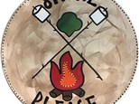 Girl Scout Campfire Plate
