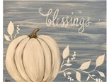Fall Blessings - Wed. Oct. 23rd at 6:30pm