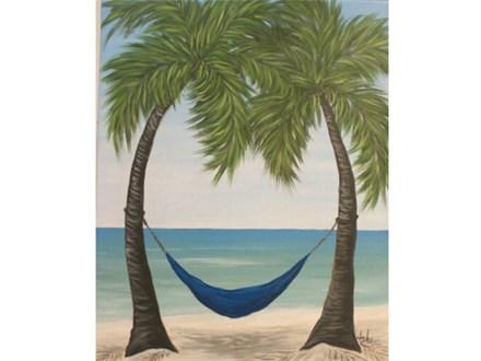 Bahama Breeze - Singles Version 16x20 one canvas