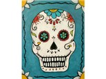 Sugar Skull - choice design for skull - may substitute colors, add cross, etc.