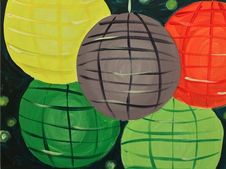 """Lanterns,"" Canvas Night on July 24th from 7-9pm"