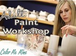 Adult Workshop: PYO Specialty Paint - August 16th @ 6:30pm