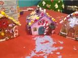 Gingerbread houses at KILN CREATIONS