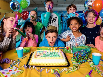 Birthday Party Package - At The Pit