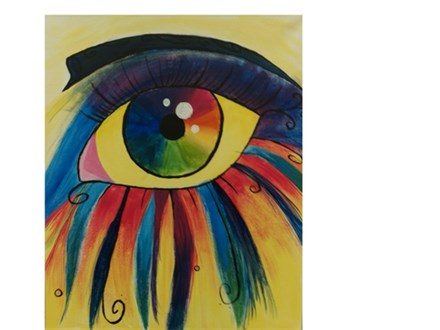 Seeing Colors - Paint & Sip - July 8