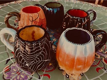 Pumpkin Mug Decorating Class - Oct. 18th