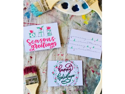 Christmas Card Lettering Class (Series 2)