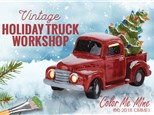 Vintage Truck with Tree Workshop! Sunday, November 7th
