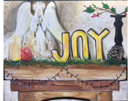 Joyful Mantel