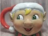 Friendly Elf Mug - Ready to Paint
