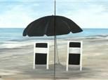 Beach Buddies - Couples Version - 1 canvas per person