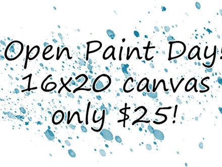 Open Paint Day - 01.21.19