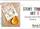 Story Time Art - Sophie's Squash
