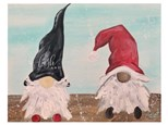 Christmas Gnomes Paint Class