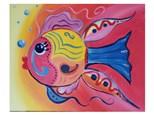 Mt. Washington Kid's Fish Canvas - Aug 13th