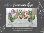 07/28 Paint A Wine Glass 2 pm $35