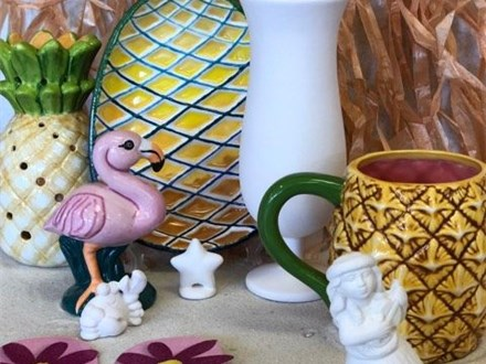 Family Pottery - Luau! - 06.29.19