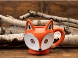 """ Fox Mug"" To-Go Kit-at Color Me Mine - Aspen"