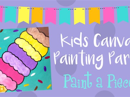 Kids Canvas Painting Party---see pricing below