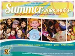 Summer Workshops! Clay.. Canvas.. Pottery and more!