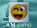 Emoji Chip 'N Dip (ON SCREEN) June 26th, Morning Camp 2018