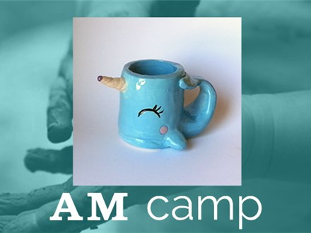 Narwhal Mug (SPLISH SPLASH) August 16th, Morning Camp 2018