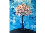 Springtime Peach Tree