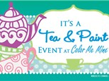 Mommy & Me Tea Party - March 23, 2019