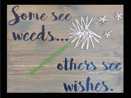 Wishes Board Art!