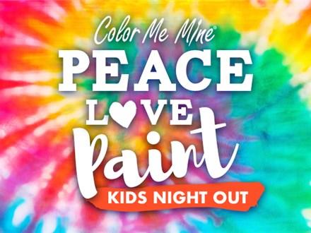 Kids Night Out -Groovy Tie Dye - 3/20