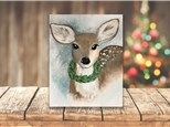 """""""Winter Deer"""" BYOB Canvas Event ages 21 & up 12/18/19"""