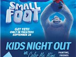 Small foot painting party