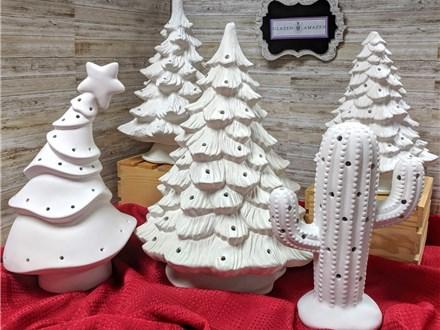Vintage Christmas Tree Class