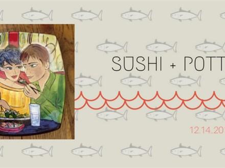 Sushi + Pottery at Pacific Rim Sushi