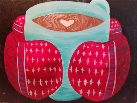 Paint Your Own Canvas Pack - Mug and Mittens