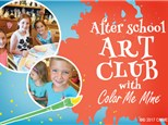 AFTER SCHOOL ART CLUB - TUESDAY CLASS (SEPT 24TH FOR 6 WEEKS)