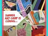 Summer Art Camp 2018 Week 8