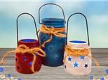 Virtual Painting Mason Jars Set - March 30th
