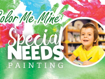 SPECIAL NEEDS PAINTING - NOV 3