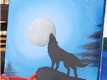 Art Club: Moonlight Wolf