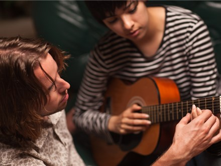 Calebs Guitar Class