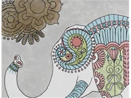 """""""Boho Elephant"""" Canvas Class, May 26th"""