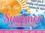 Full Week Summer Camp - Paint Like the Masters - June 25-29