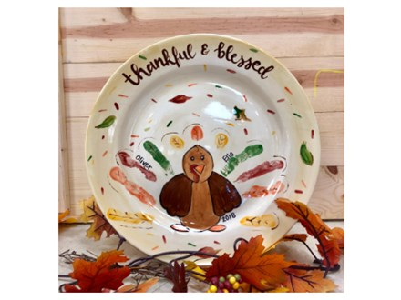 Mt. Washington Kid's Thanksgiving Dinner Plate - Nov 3rd