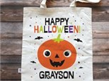 Mommy & Me Trick or Treat Bag Oct. 25 $35