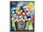 Colorful Cotton Paint Class