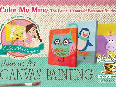canvas Class for Kids! August 20th