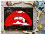 Vampire Kiss Paint Class